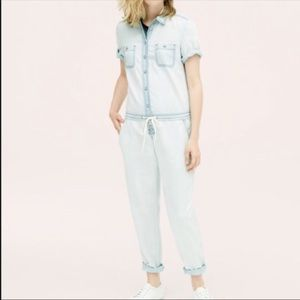 Lou & Gray denim lightweight jumpsuit small